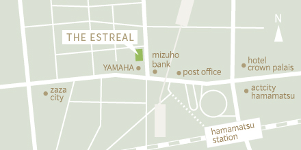 エストリアル 地図